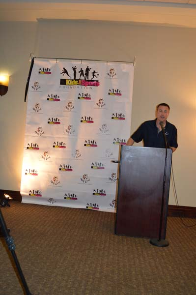Cory Clemetson Announcing Kids for Sports Foundation.jpg