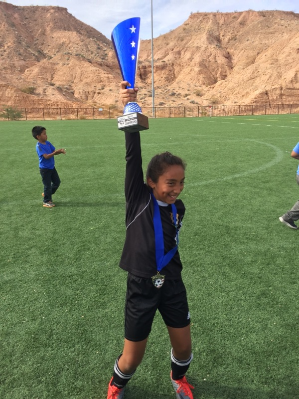 2017 - Anguiano - Excited Soccer Winner