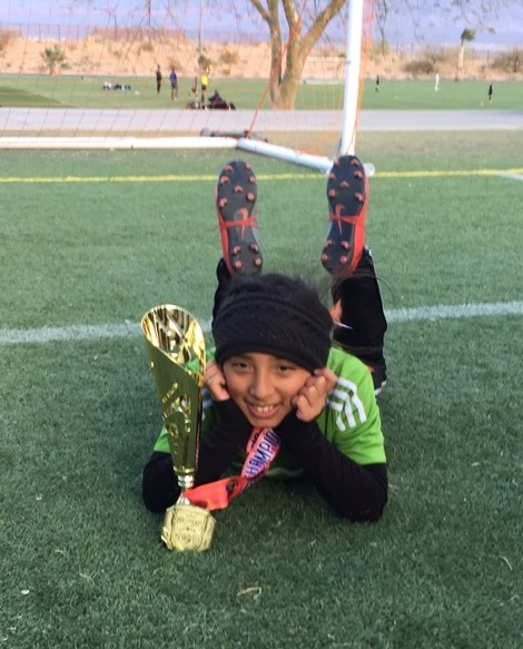 2018 - Ashley Anguiano - Soccer Champ