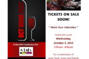 Kids for Sports Fall Wine Fest - On Sale now!